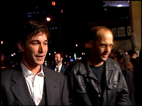 noah wyle at the 'from dusk to dawn' premiere at the cinerama dome at arclight cinemas in hollywood california on january 17 1996 - noah wyle stock videos and b-roll footage