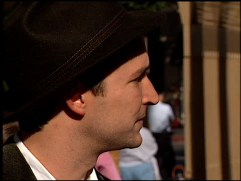 noah wyle at the 'my dog skip' premiere at the egyptian theatre in hollywood california on january 8 2000 - noah wyle stock videos and b-roll footage