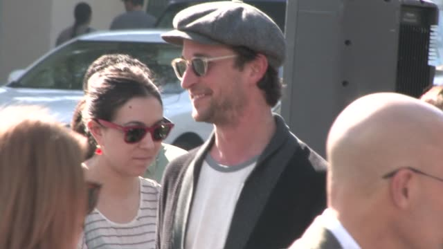 noah wyle family at the yogi bear 3d premiere in westwood village in westwood at the celebrity sightings in los angeles at los angeles ca - noah wyle stock videos and b-roll footage