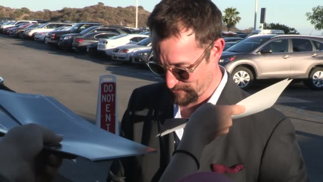 noah wyle greets fans at the 2013 saturn awards in burbank 06/26/13 noah wyle greets fans at the 2013 saturn awards in on june 26 2013 in los angeles... - noah wyle stock videos and b-roll footage