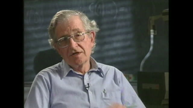 noam chomsky saying 'if you take a look at the data that the [us] government itself produces the last 25 years has been a period of unusually poor... - years stock videos and b-roll footage