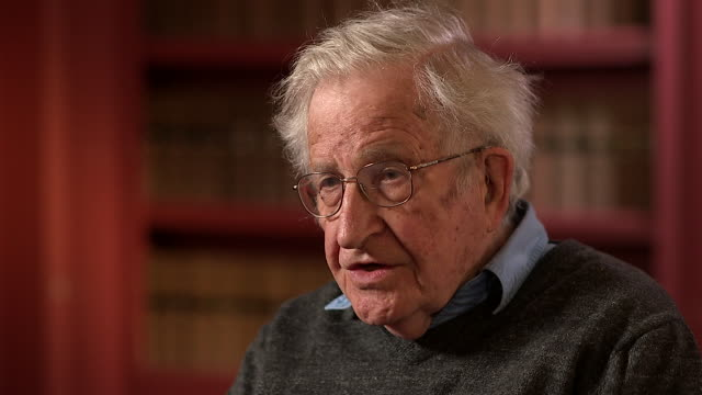 Noam Chomsky talking about the 'gig economy' or 'uber economy' and how a lack of job security has intimidated workers into not getting together and...