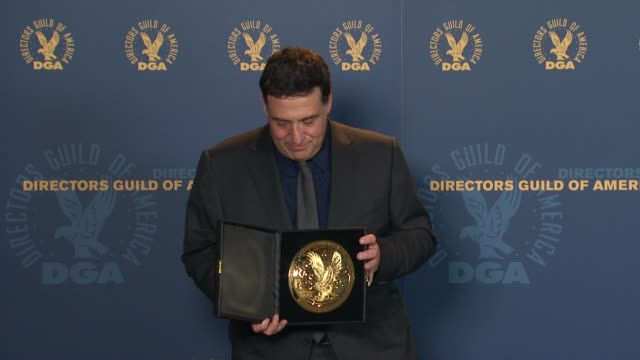 Noam Murro at 64th Annual DGA Awards Press Room on 1/28/12 in Los Angeles CA