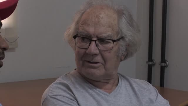 nobel peace laureate adolfo perez esquivel an argentine human rights activist who won the prize in 1980 visits seven activists on hunger strike in... - political prisoner stock videos & royalty-free footage