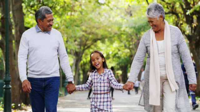 nobody can do for little children what grandparents do - senior couple stock videos & royalty-free footage