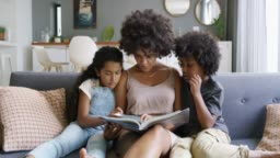 Nobody tells stories better than mom