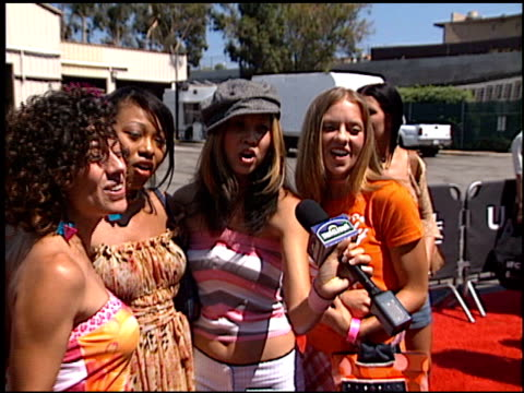 Nobodys Angel At The 2002 Teen Choice Awards At Universal Amphitheatre In Universal City California On