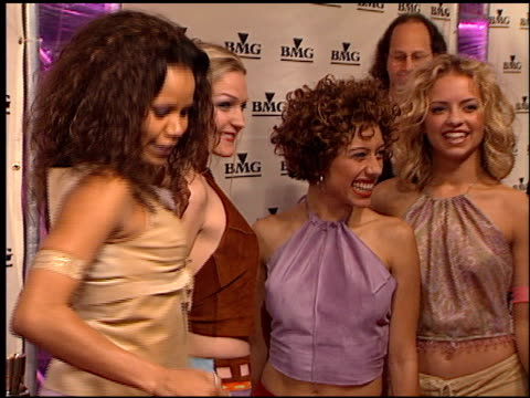 nobody's angel at the bmg grammy awards party on february 23 2000 - angel点の映像素材/bロール