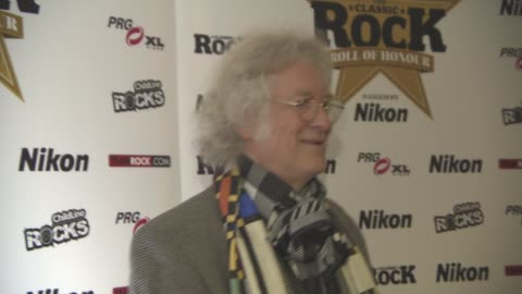 noddy holder at classic rock and roll of honour at the roundhouse on november 11, 2015 in london, england. - noddy holder stock-videos und b-roll-filmmaterial