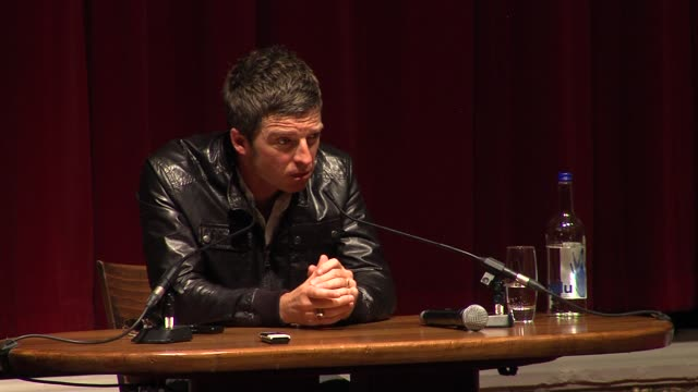noel gallagher on the phone hacking scandal and the meaning of the song 'the death of you and me' - 不祥事点の映像素材/bロール