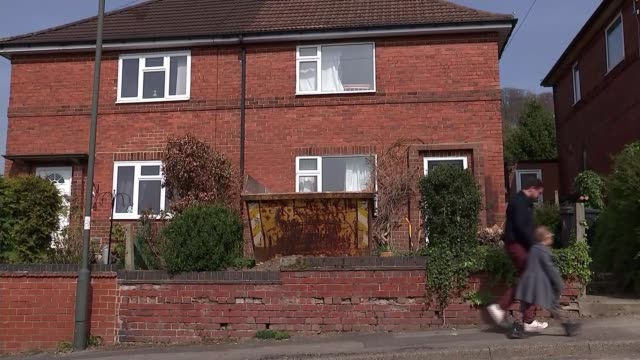 Nofault evictions to be banned by government in England ENGLAND Derbyshire EXT Various Jyoti Wilikinson and Kerris walking through residential...