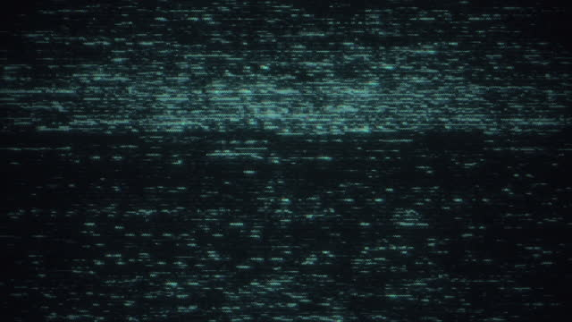 tv noise and glitches. lost signal - spooky stock videos & royalty-free footage