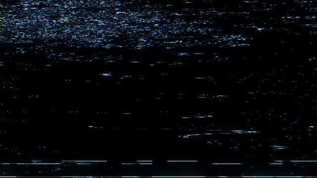 vidéos et rushes de bruit de la télévision et pépins. signal perdu - problèmes