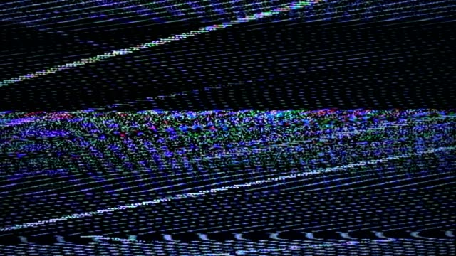 tv noise glitch signal problems 4k - glitch technique stock videos & royalty-free footage
