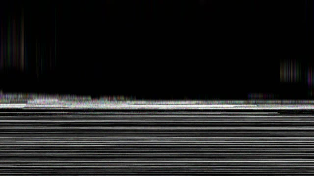 noise on analog tv screen vhs - computer graphic stock videos & royalty-free footage