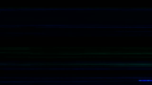 vídeos de stock e filmes b-roll de noise on analog tv screen vhs - colaptes