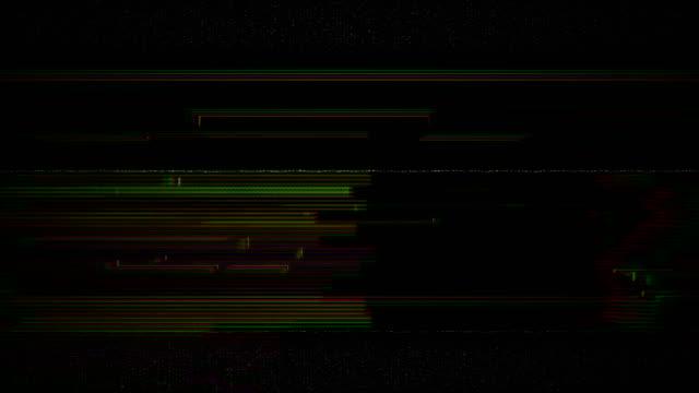 Lärm auf analoge TV-Bildschirm VHS