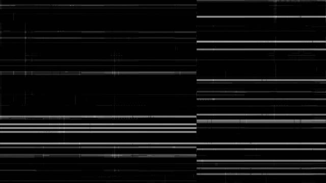 noise on analog tv screen vhs - pixelated stock videos and b-roll footage