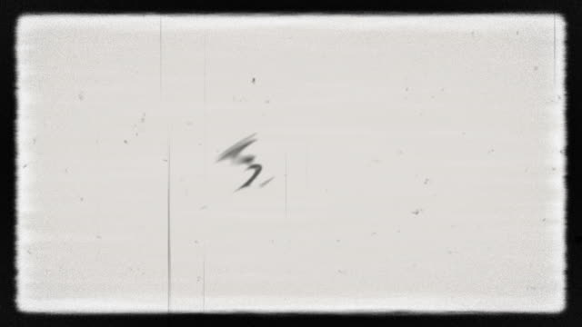 noise on analog tv screen vhs - scratched stock videos & royalty-free footage