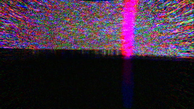 noise on analog tv screen vhs - strobe light stock videos & royalty-free footage