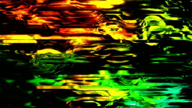 vídeos y material grabado en eventos de stock de ruido en la pantalla de tv analógica - pájaro carpintero escapulario