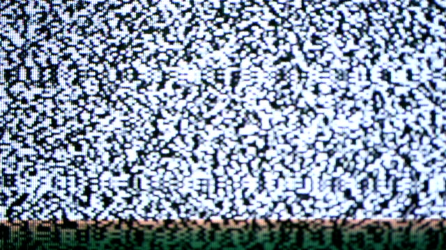noise television.