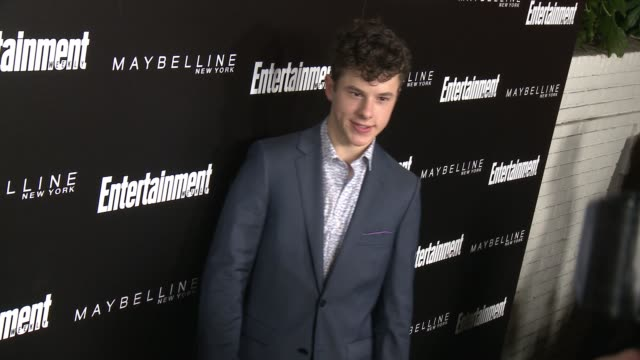 nolan gould at 2016 entertainment weekly screen actors guild party at chateau marmont on january 29 2016 in los angeles california - entertainment weekly stock-videos und b-roll-filmmaterial