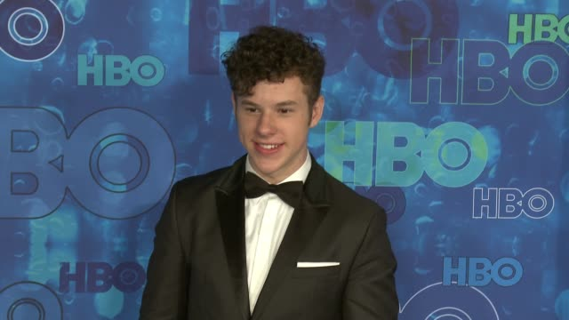 nolan gould at the hbo's post emmy awards reception - arrivals at the plaza at the pacific design center on september 18, 2016 in los angeles,... - pacific design center stock videos & royalty-free footage