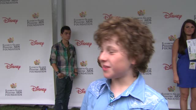 Nolan Gould on how he feels to be at the 22nd Annual Time for Heroes Celebrity Picnic if this is his first time attending why he wanted to come and...