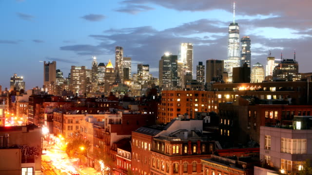 NoLiTa Downtown Manhattan Time Lapse