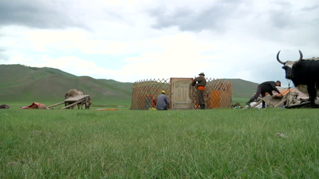 MS Nomads moving camp / Central-south Mongolia, Mongolia