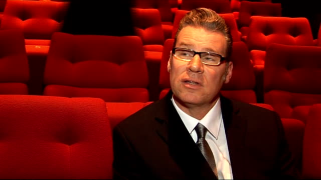 nominations announced; mark kermode interview sot - i think what's interesting is that 'an education' has turn as well as it has done..it's right up... - マーク カルモード点の映像素材/bロール