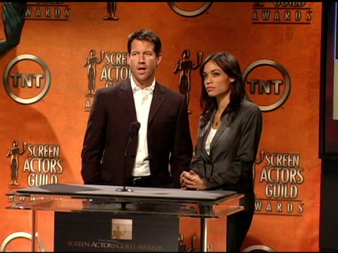Nominees for Female Actor in a Miniseries at the 2005 Screen Actors Guild SAG Awards Nominations Announcements at Pacific Design Center in West...