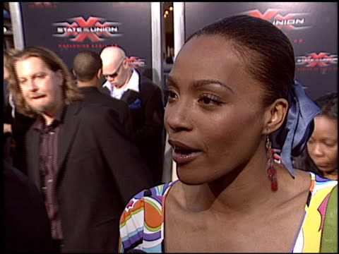 nona gaye at the 'XXX State of the Union' Premiere on April 25 2005