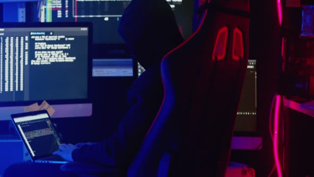 Nonconformist Teenage Hacker Attacks and Hacks Corporate Servers with Virus.