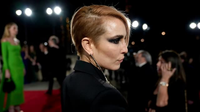 GIF Noomi Rapace at The Fashion Awards 2018 In Partnership With Swarovski at Royal Albert Hall on December 10 2018 in London England