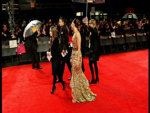 noomi rapace at the orange british academy film awards 2011 at london england. - ブランド名点の映像素材/bロール
