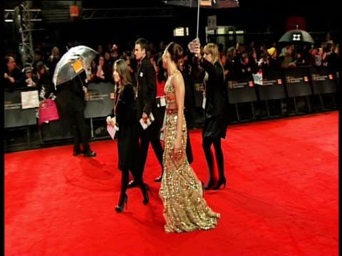 noomi rapace at the orange british academy film awards 2011 at london england. - ブランド名点の映像素材/bロール