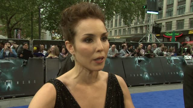 noomi rapace on getting great roles sigourney weaver in alien at prometheus world premiere at empire leicester square on may 31 2012 in london england - sigourney weaver stock videos & royalty-free footage