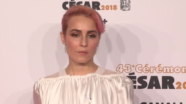 vidéos et rushes de noomi rapace on the red carpet for the cesar film awards 2018 at salle pleyel in paris paris, france, on friday, march 2nd, 2018 - cesar