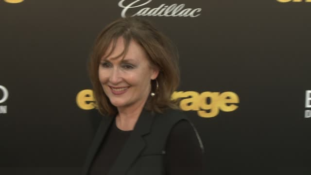 """nora dunn at """"entourage"""" los angeles premiere at regency village theatre on june 01, 2015 in westwood, california. - regency village theater stock videos & royalty-free footage"""
