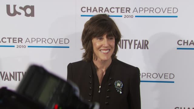Nora Ephron at the 2nd Annual Character Approved Awards Cocktail Reception at New York NY