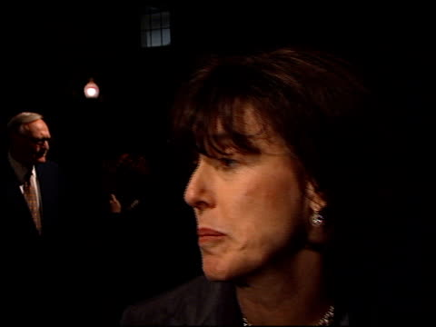 nora ephron at the 'lucky numbers' premiere at paramount in hollywood, california on october 24, 2000. - nora ephron stock videos & royalty-free footage