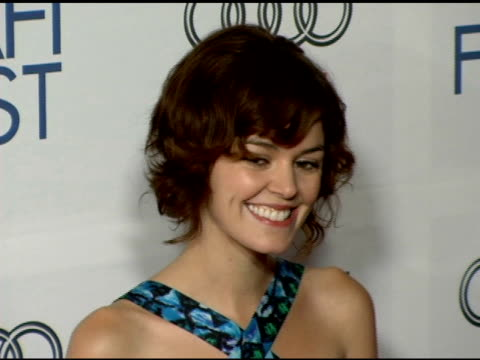 vídeos y material grabado en eventos de stock de nora zehetner at the 20th century fox's 'walk the line' premiere at the opening night gala of the 2005 afi fest at the cinerama dome at arclight... - arclight cinemas hollywood