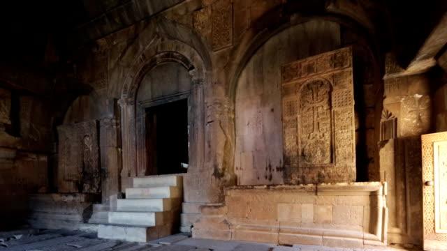 noravank monastery, yeghegnadzor, armenia - circa 13th century stock videos & royalty-free footage