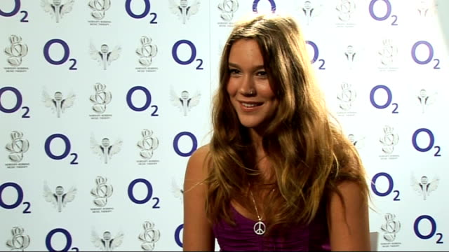 interview Joss Stone ENGLAND London O2 Arena INT Joss Stone interview SOT on the event and enjoying singing with Tom Jones tonight talks about new...