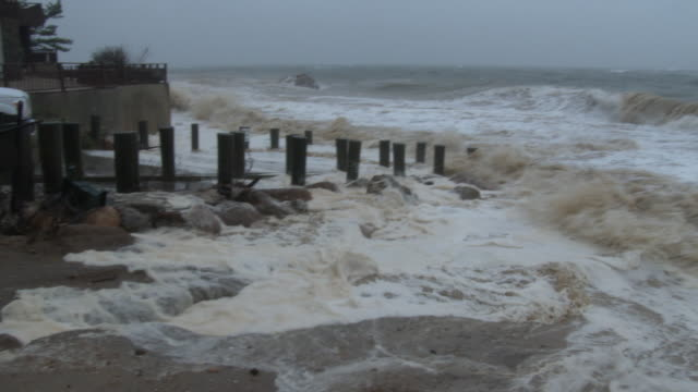 Nor'easter, Large Waves and Rough Surf