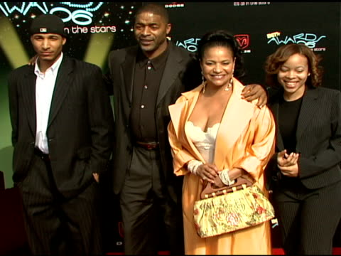Norm jr Norm Nixon Debbie Allen and Vivian at the 2006 BET Awards arrivals at the Shrine Auditorium in Los Angeles California on June 27 2006
