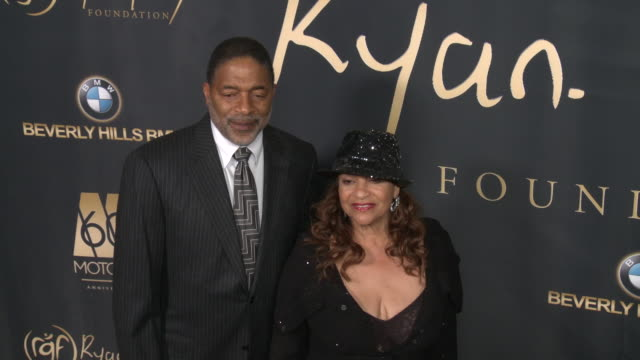 """norm nixon and debbie allen at ryan gordy foundation """"60 years of motown"""" celebration at waldorf astoria beverly hills on november 11, 2019 in... - debbie allen stock videos & royalty-free footage"""