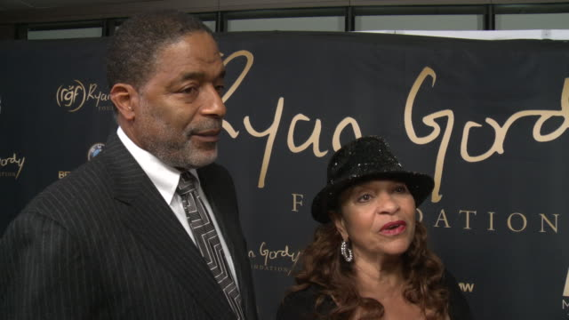 interview norm nixon and debbie allen on why it was important to support the ryan gordy foundation what makes berry smokey deserving of this honor... - debbie allen stock videos & royalty-free footage